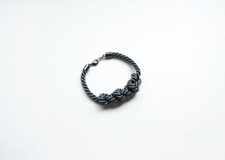 NOEUD 8knot-bracelet Men's Gray