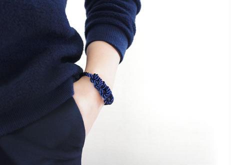 NOEUD 8knot - bracelet Navy