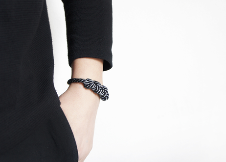 NOEUD 8knot - bracelet Gray