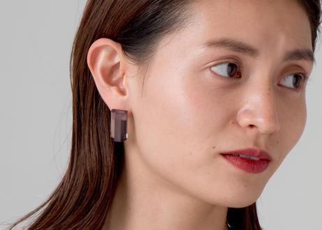 NUEN HALF EARRINGS / PIERCE