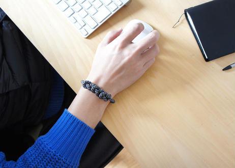 NOEUD 8knot - bracelet Men's Gray