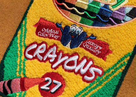 WAVY Stadium Jacket  <CAMEL>