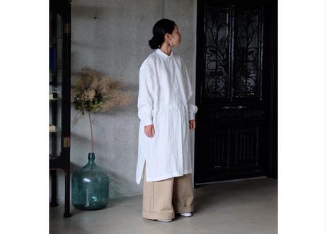 フランス リネンシャツ White