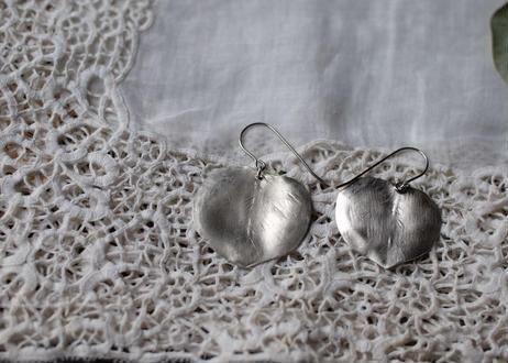 シルバー ユーカリの葉 pierce