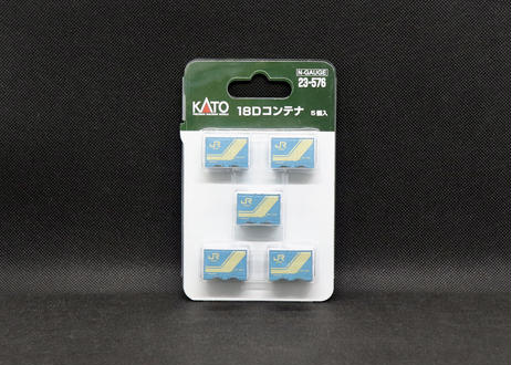 KATO 23-576 18Dコンテナ 5個入