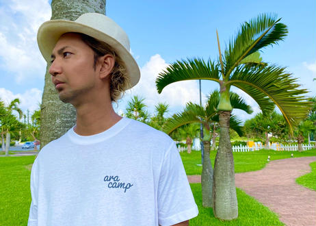 ARA CAMP【バックプリントTシャツ】