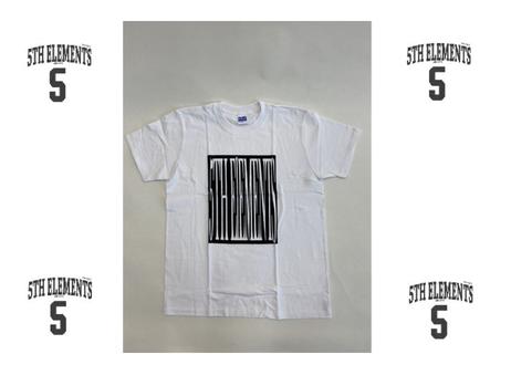 白M1着のみ!! 激レア!! 5th Elements オリジナル Tシャツ