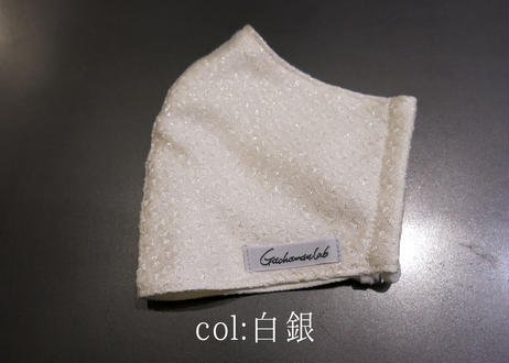 【新】抗菌抗ウイルス×上質シルク3層マスク『手裏剣』