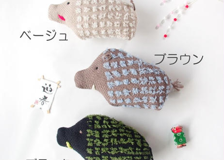 織りぐるみ -いのしし