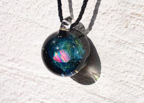 宇宙 レインボーオパール (ボロシリケイトガラス) ON-11208