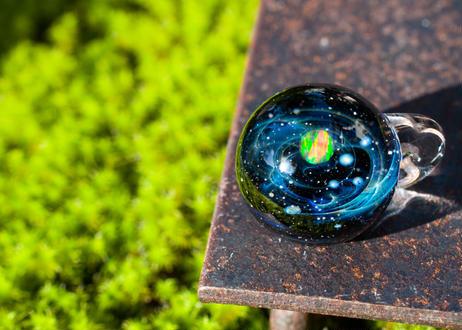 宇宙 レインボーオパール (ボロシリケイトガラス) ON-11206
