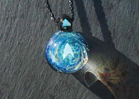 宇宙 ホワイトオパール(ボロシリケイトガラス) ON-11216