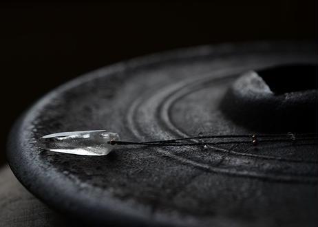 ガネーシュヒマール水晶/一粒の鉱物ネックレス133