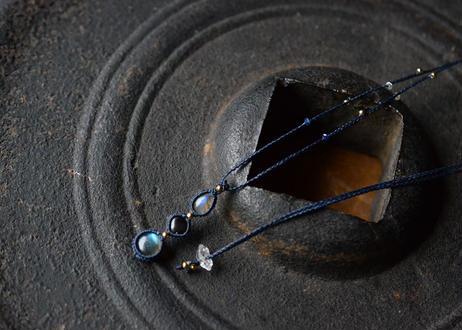 ラブラドライト・ブラックスター/鉱物ネックレス