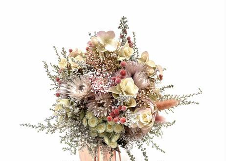 Bouquet_Rose dragée_No.001