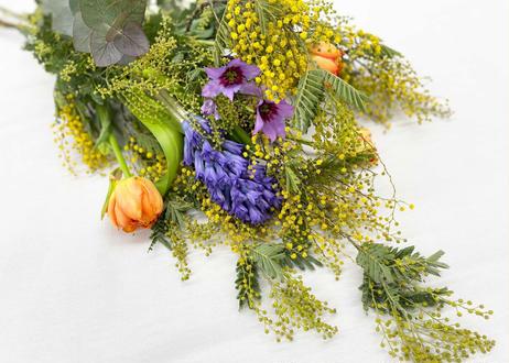 【受注販売】 ミモザの花束