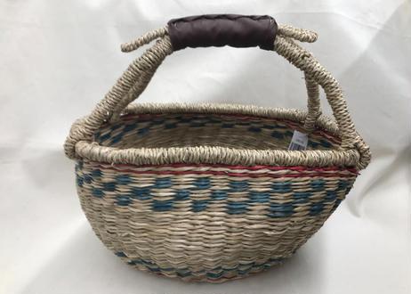 【Basket】インテリアバスケット(オルテガ風)