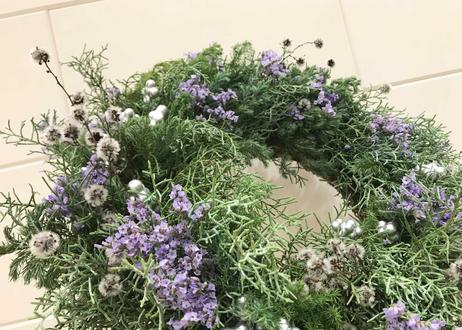 [受注生産] Christmas wreath(L)
