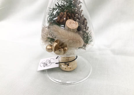 ガラスのツリー  Pine cone (S)