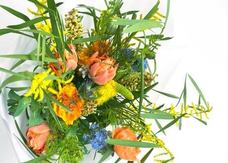 【受注販売】 季節の花束