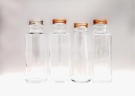 瓶(小)4タイプセット【インテリア・ハーバリウム】