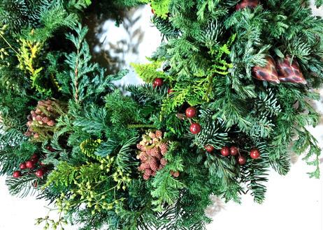 【芝公園】Workshop:コニファーのクリスマスリース inクリスマスガーデン