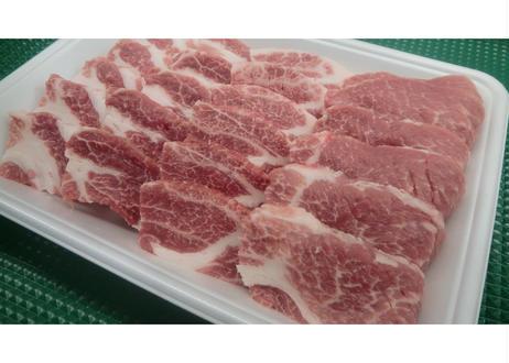 国産豚カタロース~焼肉用~ [100g]