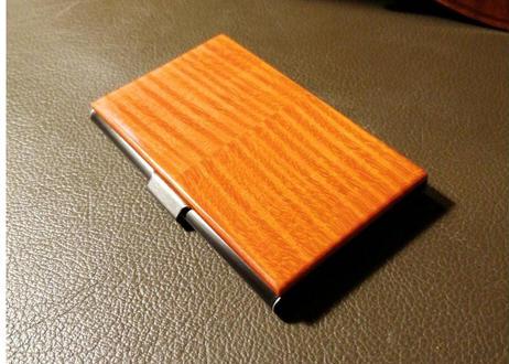 高級STRINGS CARD CASE(中心二枚板継ぎ)
