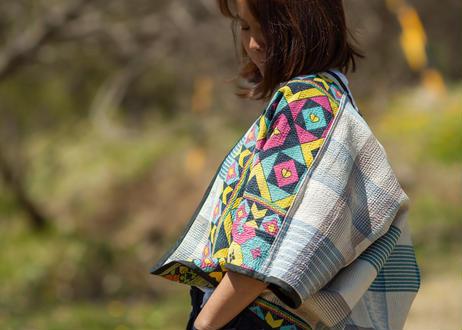 Various カンタ刺繍リバーシブルジャケット 2525_0104001
