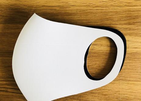 【 HOLLY WET SUITS 】ウェット生地マスク Mサイズ ホワイト