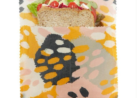 Stripes - Large Sandwich Bag (Organic Cotton)