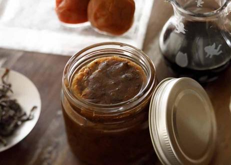 塩コンプと梅のドレッシング