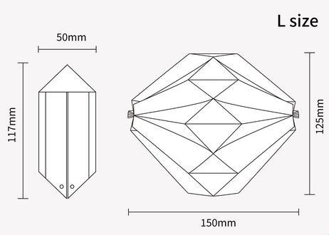 origamimask  カミダノミ  越前和紙