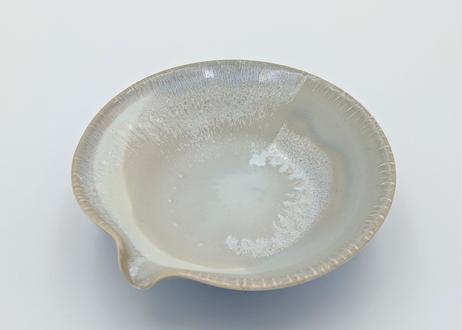B119 色彩結晶釉片口丸鉢