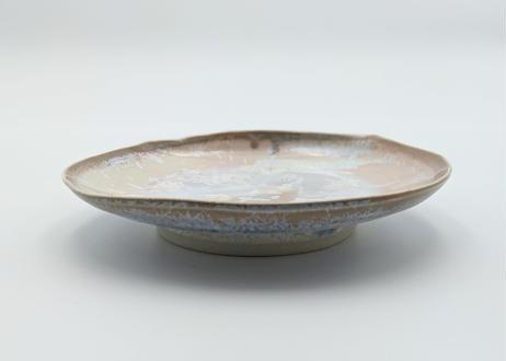 B71 雪結晶釉皿