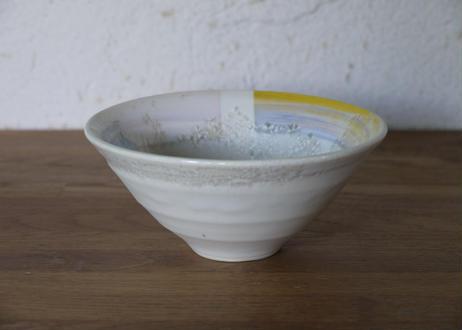 A111 色彩結晶釉茶碗 黄