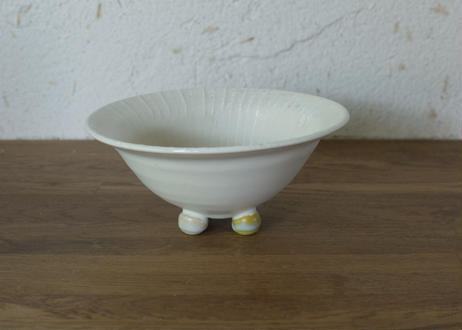 A92色彩結晶釉足つき鉢