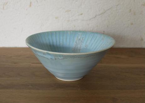 A70色彩結晶釉中鉢  ブルー