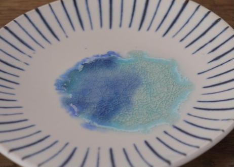 A32 青い池 皿