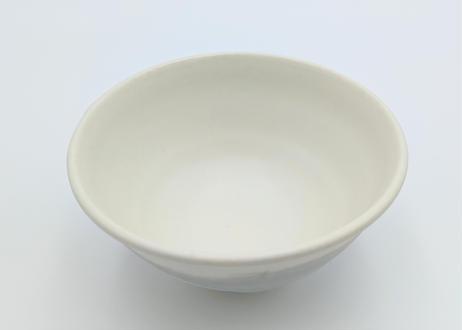 雪釉茶碗 グレー