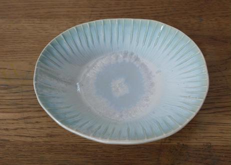 A72色彩結晶釉小鉢 ブルー