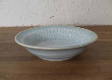 A75色彩結晶釉口広鉢 ブルー 小