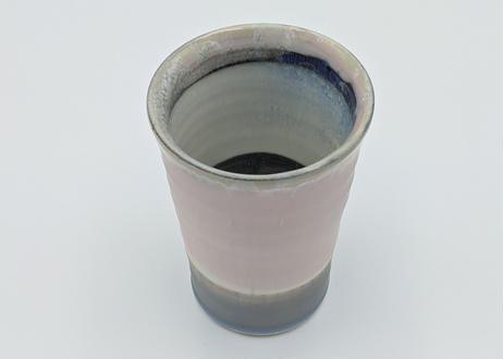 B7 色彩結晶釉 フリーカップ ピンク