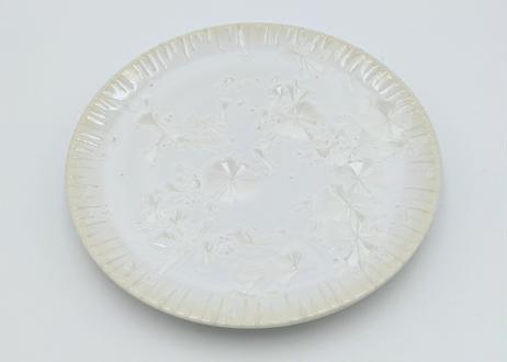 C6 雪結晶釉カップ&ソーサー 白