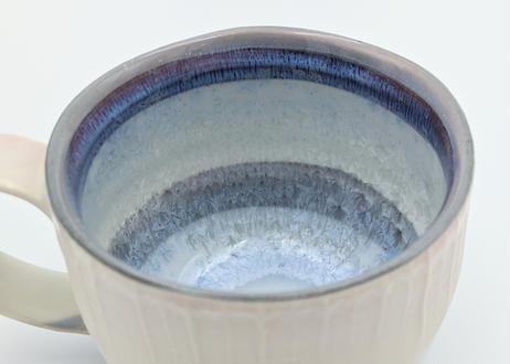 B96 色彩結晶釉マグカップ ピンク×紫