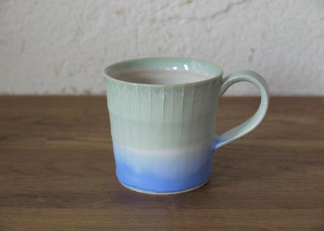 A11 色彩結晶釉マグカップ small 緑