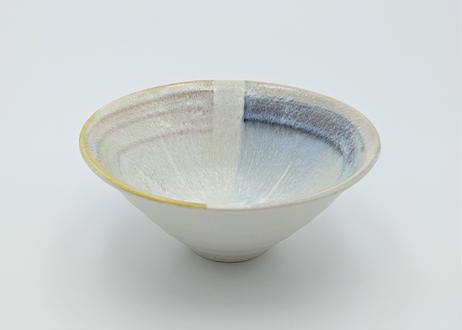 色彩結晶釉茶碗 黄