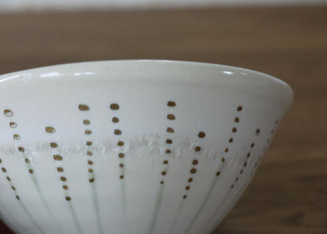 A60金彩結晶釉茶碗