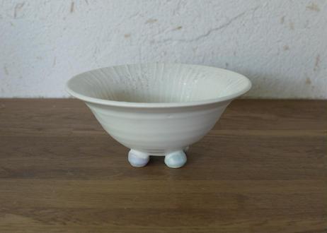 A91色彩結晶釉足つき鉢