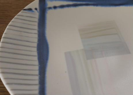 A66色彩釉マット平皿